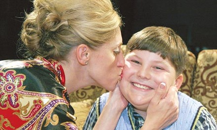 Mom-ologue: Leah Hillgrove and Justin L. Cook in Little Lake's The Loman Family Picnic