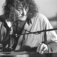 "Jack Rose brings his ""primitive guitar"" to the Woodlab showcase"