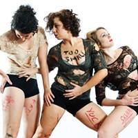 Murphy/Smith Dance Collective'sLaura Warnock,Jamie Erin MurphyandRenee Danielle Smith.