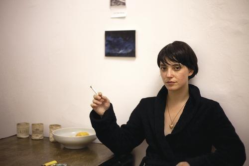 My Smoking Jacket: Sharon Van Etten - COURTESY OF KRISTIANNA SMITH