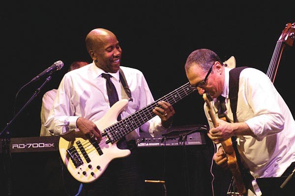 Nathan East and Chuck Loeb of Fourplay at MCG Jazz in October, 2011