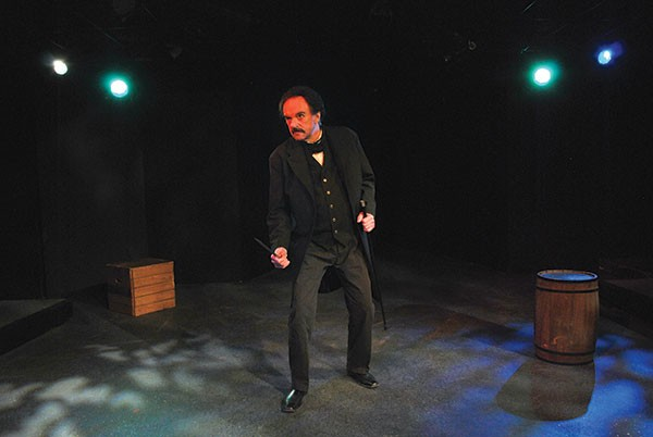 Nevermore: David Crawford as Edgar Allan Poe in Poe's Last Night