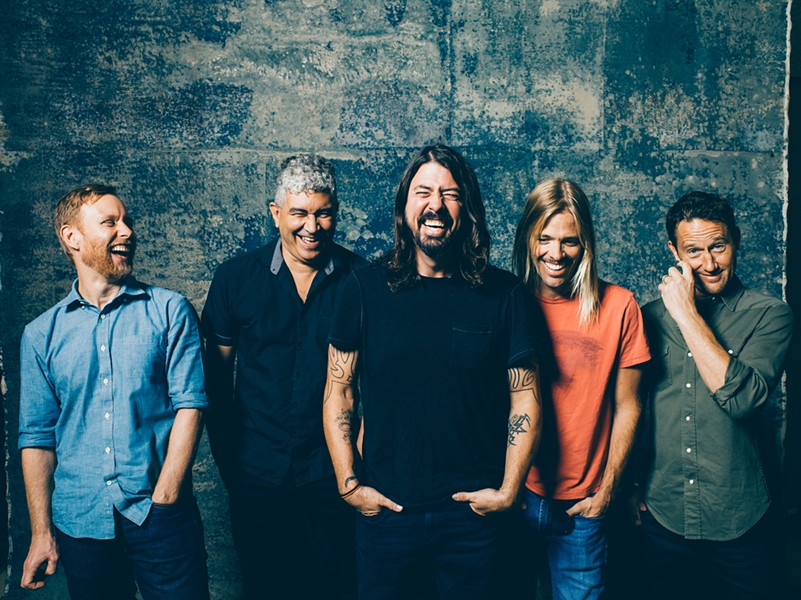 Foo Fighters - PHOTO COURTESY OF BRANTLEY GUTIERREZ
