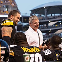 New Steelers offensive line coach Mike Munchak