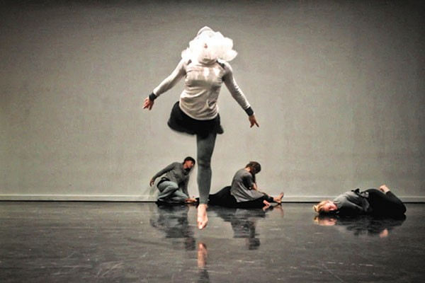 "New works: Gia T. Presents ""Frameworks,"" in rehearsal"