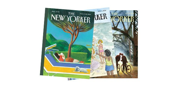 New Yorker Magazine covers