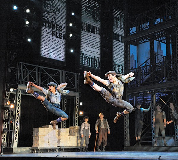 Newsies, at the Benedum Center