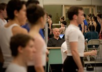 Nicolas Petrov at rehearsal