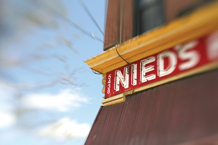 """Nied's: Home of the """"Famous Fish Sandwich"""" - PHOTO: HEATHER MULL"""