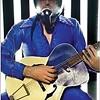 One-man band Bob Log III performs at the Warhol