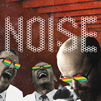 NOISE mixes music and art