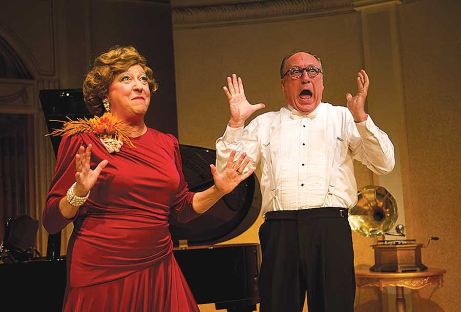 Note-worthy: Jill Keating and Jeff Howell in The REP's Souvenir
