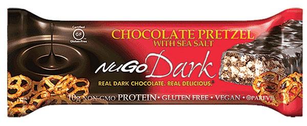 NuGo Dark Chocolate Pretzel Bars