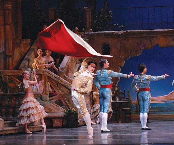 Nurlan Abougaliev in Pittsburgh Ballet Theater's Don Quixote