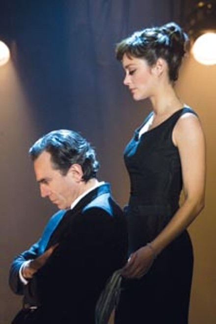 On profile: the stymied director (Daniel Day-Lewis) and his wife (Marion Cotillard)