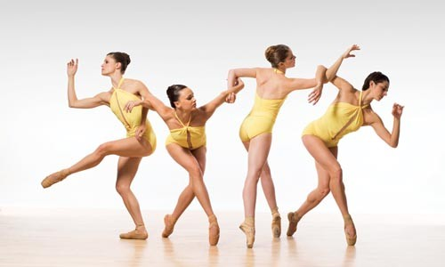 On the rise: Dancers from Aspen Santa Fe Ballet. - LOIS GREENFIELD