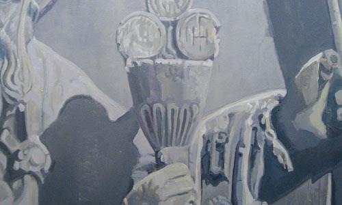 "Opening doors: ""The Portal IV 2006"" (detail), by Fabrizio Gerbino"