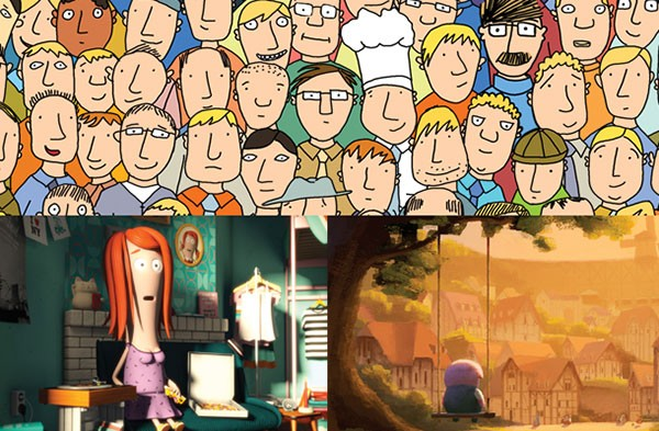 """Oscar nominated animated shorts, """"Me and My Moulton,"""" """"The Dam Keeper"""" and """"A Single Life"""""""