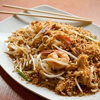 Thai Hana Pad Thai Photo by Heather Mull