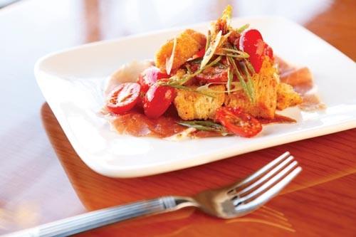 Panzanella salad - PHOTO BY HEATHER MULL