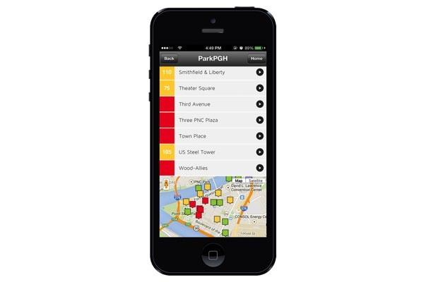 ParkPGH iPhone App