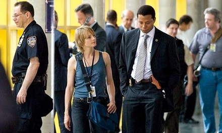 Partners in justice: Jodie Foster and Terrence Howard