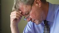 Pastor Jay Reinke is troubled