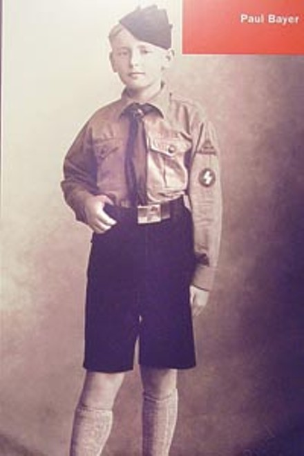 Paul Bayer, Hitler Youth