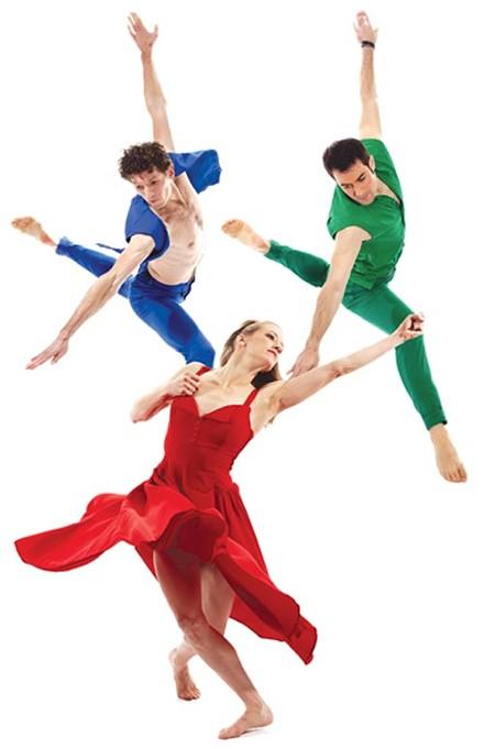 "Paul Taylor Dance Company's ""Three Dubious Memories."" - PHOTO COURTESY OF TOM CARAVAGLIA"