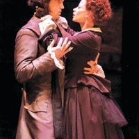 Personality crises: Kelly Boulware and Melinda Helfrich in City Theatre's Dr. Jekyll & Mr. Hyde.