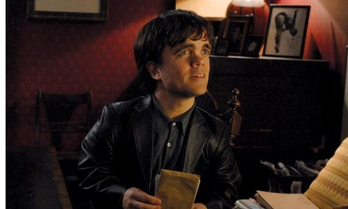 Peter Dinklage arrives to shake down the living.