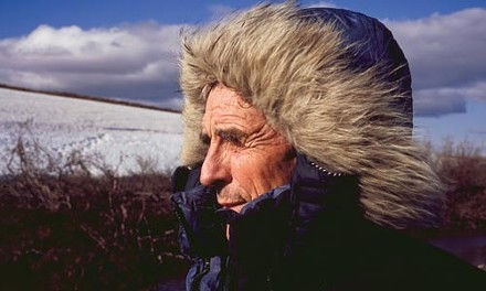 Peter Matthiessen in the Arctic. - PHOTO BY SUBHANKAR BANERJEE