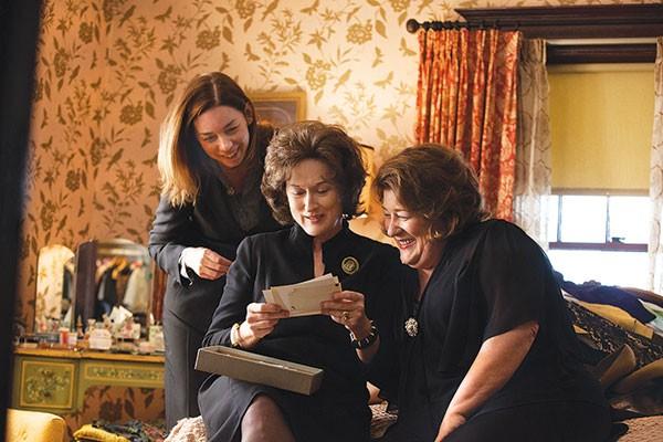 Photoplay: Julianne Nicholson, Meryl Streep and Margo Martindale