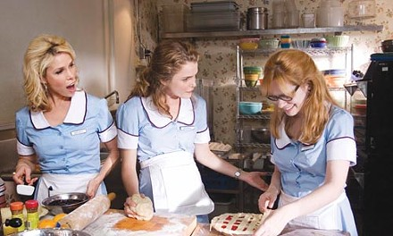Pie patrol: Cheryl Hines, Keri Russell and Adrienne Shelly