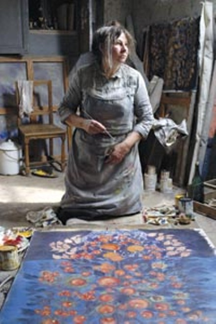 Pigments of her imagination: Yolande Moreau as the painter Sraphine Louis.