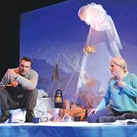 Pittsburgh Playhouse REP's <i>Antarktikos</i>.
