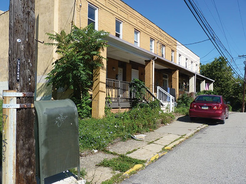Pittsburgh property, home, deteriorating, house, community planner, hill district, hilltop