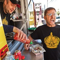 """Geez Louise, where's the Heinz ketchup?"": Best of Pittsburgh winners Pittsburgh Taco Truck and Internet celebrity Pittsburgh Dad."
