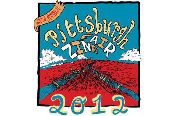 Pittsburgh Zine Fair poster