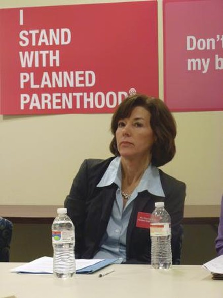 Planned Parenthood CEO Kim Evert - LAUREN DALEY