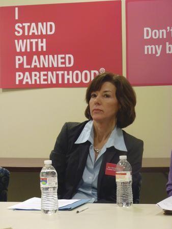 Planned Parenthood CEO Kim Evert - LAUREN DALEY