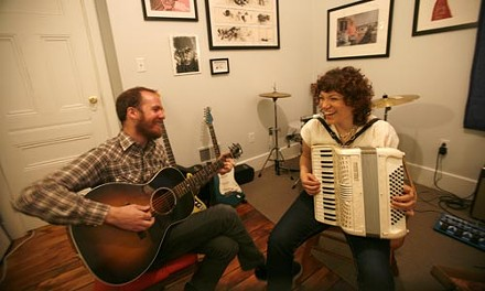 """Polka Inferno: Raymond Morin and Minette Vaccariello, who sometimes perform Bee Gees songs, as """"The Bee Gentles"""" - HEATHER MULL"""