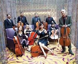 Portland Cello Project - PHOTO COURTESY OF TARINA WESTLUND