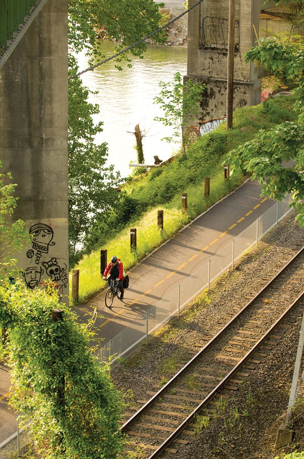 Portland greenways. - PHOTO BY BRUCE FORSTER, COURTESY OF CITY OF PORTLAND