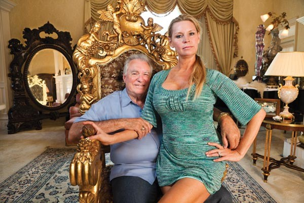 Power couple: David and Jackie Siegel, before the fall