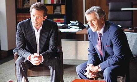 Power meeting: Bradley Cooper and Robert DeNiro