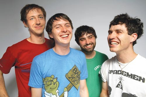 Pretty fanatical: Animal Collective - COURTESY OF ADRIANO FEGUNDES