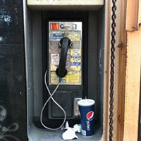Public Phone  Photo by Al Hoff