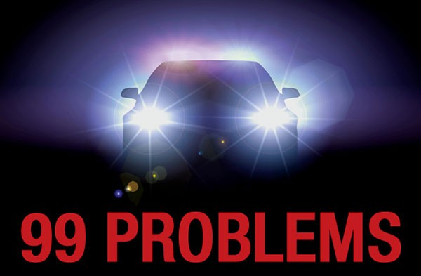 Public records, police problems