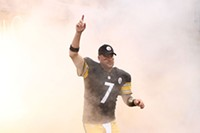 Quarterback Ben Roethlisberger - PHOTO BY HEATHER MULL